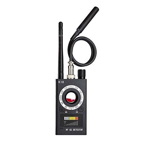 Detector de señal RF, detector de error inalámbrico para cámara oculta, detector de espía GSM Audio Bug Finder GPS Scan