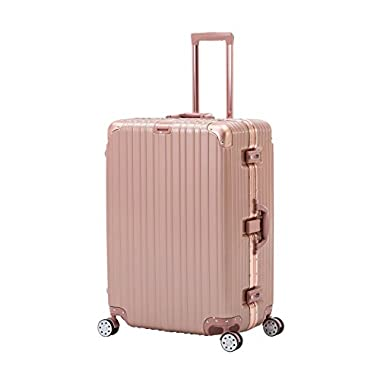 Murtisol Luggage Suitcase AL Frame Design Hard Shell Luggage Carry ON Suitcase 20/24 /31 inch