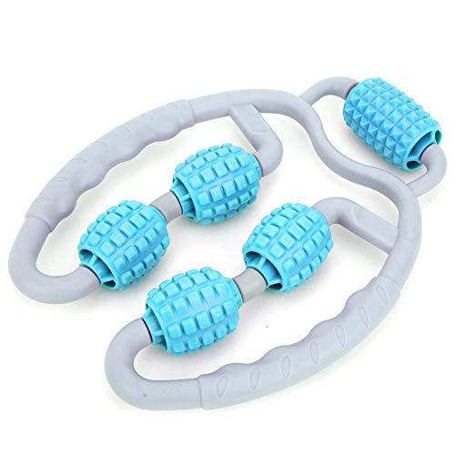 Yoga-Ausrüstung Kunststoff-Klemmbeinmassagegerät zur Entspannung der Wadenmuskulatur(Leg massager blue)