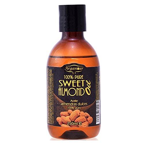 Arganour Sweet Almond Oil 100% Pure Huile Corporelle