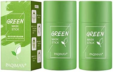 2 Pack Green Tea Purifying Clay Facial Mask Stick Deep Cleansing Oil Control Anti Acne Solid product image