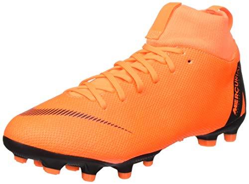 Nike Unisex K-F-Schuh Jr. Superfly Academy MG Fitnessschuhe, Mehrfarbig (Total Orange/Black-t 810), 36 EU