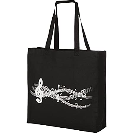 color Logo ~ Cotton Tote Bag ~ Music Book Bag ~ Student Studio Family Gift Christmas Present Thistledown Piano /& Violin Studio