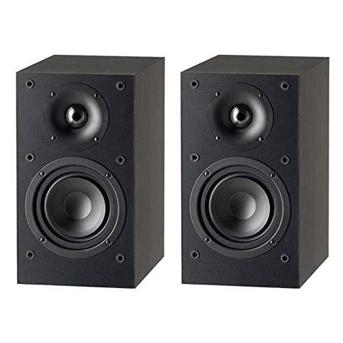 Paradigm Monitor SE Atom Bücherregal-Lautsprecher in Mattschwarz (Paar)