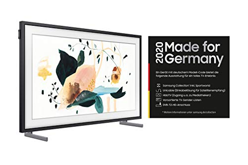 TV QLED Clase energética: B (A++ - D) Samsung GQ43LS03 GQ43LS03TAUXZG 108 cm (43 pulgadas) DVB-T2, DVB-C, UHD, SM.