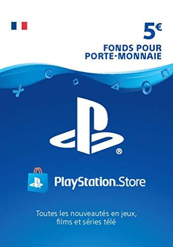 Carte PSN 5 EUR | Code PS4 Jeu à télécharger - Compte français