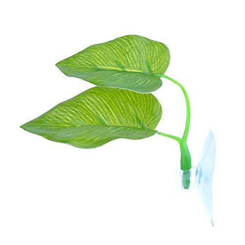 ypypiaol Plante Artificielle Feuille Betta Hamac Réservoir De Poissons Frayant Lit Aquariums Décor 1#