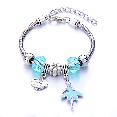 Jewellery Bracelets Bangle For Womens Silver Color Lovely Crown Heart Pendant Charm Bracelets With Cartoon Leaves Beads Bracelets For Women Jewelry Gift Bangle Gift-Gold-Color