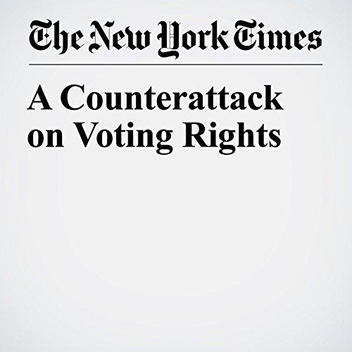 A Counterattack on Voting Rights copertina