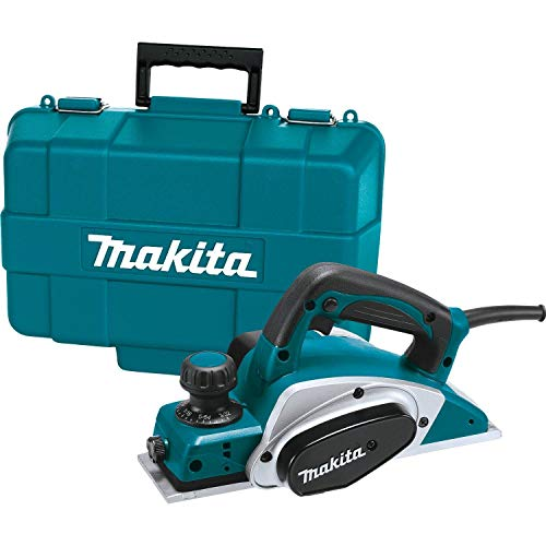 """Makita KP0800K 3-1/4"""" Planer, with Tool Case , Blue"""