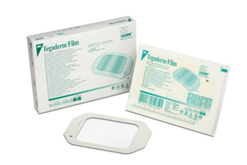 3M Tegaderm Transparent Film Dressing Frame Style 1626W, 200 Bags (Pack of 4)