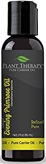 Plant Therapy Evening Primrose Carrier Oil 2 oz Base Oil for Aromatherapy, Essential Oil or Massage use