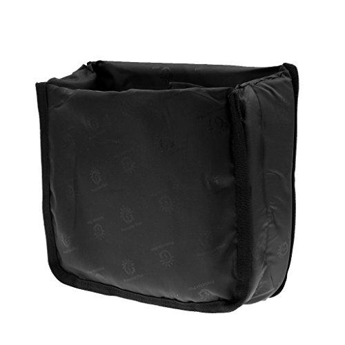 Stoßfest DSLR SLR Kamera Schutztasche/Camera Bag Insert Partition mit Gepolsterte Schutzhülle Kameratasche, perfekt als Unterwegs Transporttasche, Universal, Größe & Farbe Auswählbar - Schwarz S