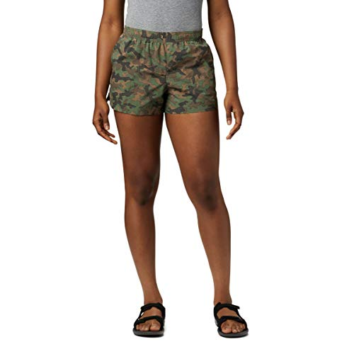 Columbia Damen Sandy River II Printed, Breathable, Sun Protection Legere Shorts, Cypress Camouflage, L x 8 cm Entrepierna