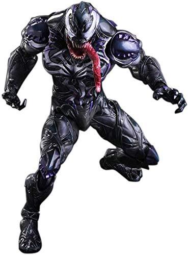 Zfggd Venom Spiderman Avengers Giocattoli - Venom Action Figure 10inch Legends stupefacente, Regalo di Compleanno for Bambini Collezione, Lavorazione sofisticata/PVC