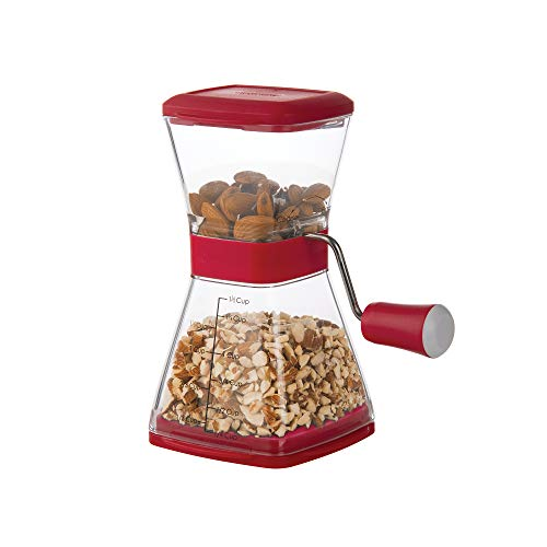 Progressive International Prepworks NUT CHOPPER, One Size, Red
