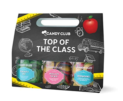 Candy Club, Top of the Class Collection, Candies and Gummies Gift Pack...