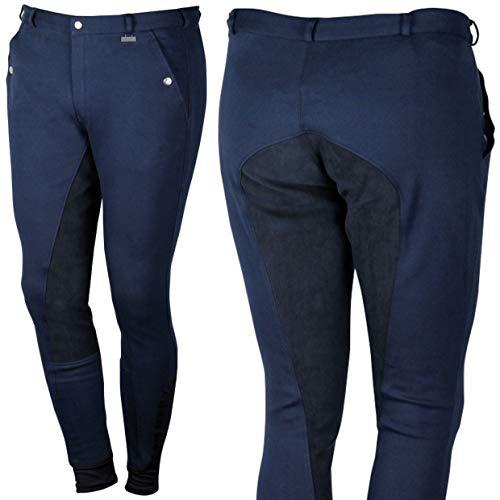 Harry's Horse H50 Beijing II Plus H50 - Pantaloni da Equitazione da Donna, Donna, Beijing II Plus H50 - Pantaloni da Equitazione da Uomo, 26000292, Blu Navy, H50