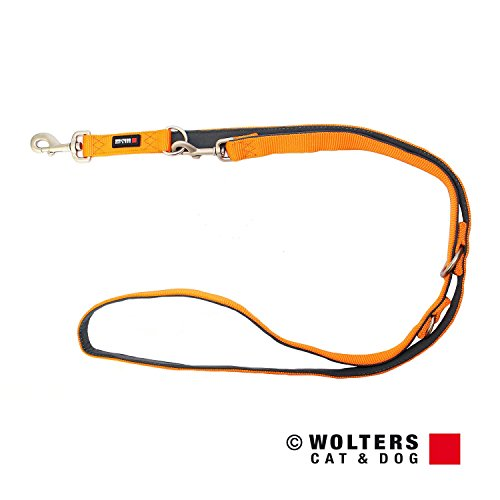 Wolters | Führleine Professional Comfort mango/schiefer | L 200 x B 2 cm