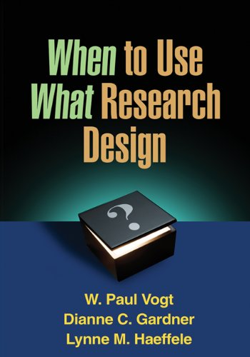 41wfpXGyRAL - When to Use What Research Design