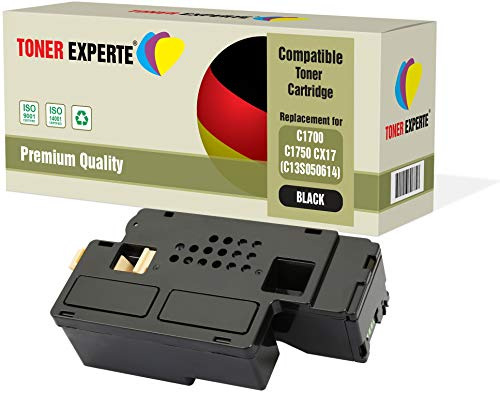 TONER EXPERTE C13S050614 Nero Toner compatibile per Epson AcuLaser C1750N, C1750W, CX17NF, CX17WF, C1700, C1750, CX17