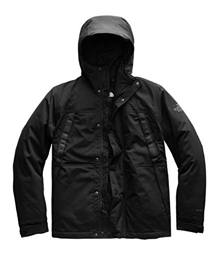 The North Face Men's Stetler Insulated Rain Jacket, TNF Black, XL
