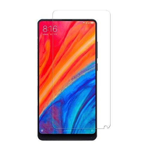 [2 pacotes] Xiaomi Mi Mix 2s Protetor de tela de vidro temperado Xiaomi Mi Mix 2s, protetor de tela transparente HD antiarranhões para Xiaomi Mi Mix 2s de 5,99 polegadas