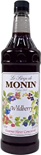 Monin Wildberry Flavor Syrup 1 Liter by Monin