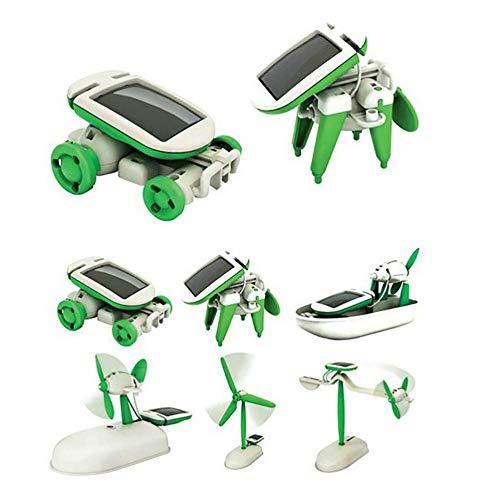 LIYT Organizada Auto-6 in1 Sol Kit de la Ciencia, ingeniería educativa Robot de...