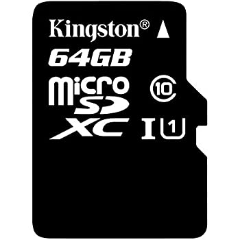 Professional Kingston 64GB for Samsung SM-E500H MicroSDXC Card Custom Verified by SanFlash. 80MBs Works with Kingston