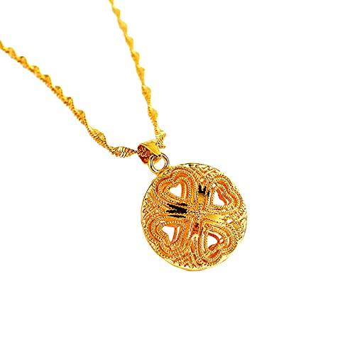 QiuYueShangMao Donuts Anhänger Halskette Sand Halskette Anhänger Halskette Solid Donuts Ring Anhänger Halskette Freundschaftshalskette Personalisierte Geschenke