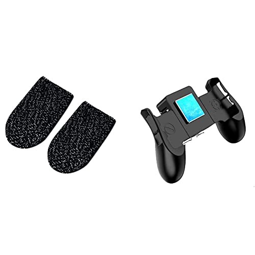 Andifany モバイルゲームコントローラー 半導体携帯電話クーラー 1フィンガースリーブ付きジョイスティックのゲームパッド Ios/Androidゲームパッド用