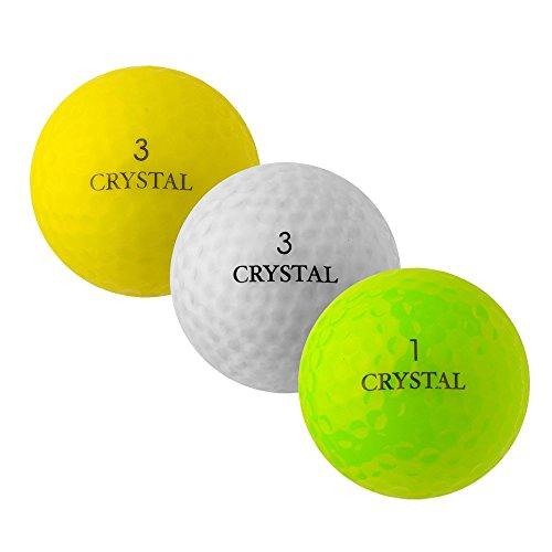 PEARL GOLF Marken Mix Crystal Mix - AAAA - AAA - bunt - gebrauchte Golfbälle - 100 Lake Balls
