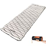 KingCamp Self Inflating Sleeping Pad for Camping Insulated Camping Mattress Comfortable Camping Mat Camping Sleeping Pads for Tent Cot Traveling and Hiking Deluxe Series Blue
