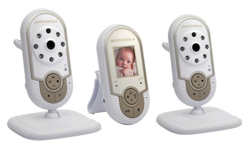 Motorola Mbp28 New Multi-cam Twin Camera Digital Video Baby Monitor Night Vision Best Gift to New Born High Quality Product Fast Shipping