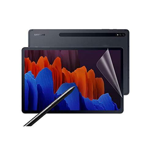 Lobwerk 2 protectores de pantalla transparentes para Samsung Galaxy Tab S7 T-870 T-875 de 11 pulgadas, protección contra arañazos