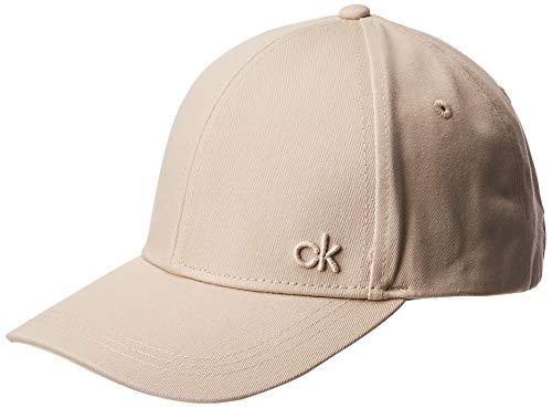 Calvin Klein Damen CK Baseball Cap, Grau (Cement 000), One Size (Herstellergröße: OS)