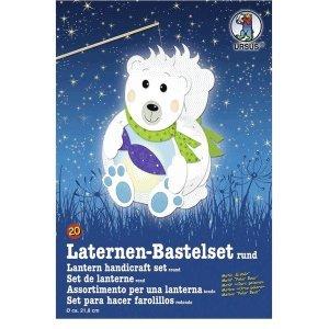 Ludwig Bähr Laternen-Bastelset 20 'Eisbär'