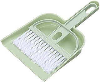 ALTcompluser Ensemble de mini pelle et brosse pour table, bureau, comptoir, clavier, portable, petite cage de nettoyage po...