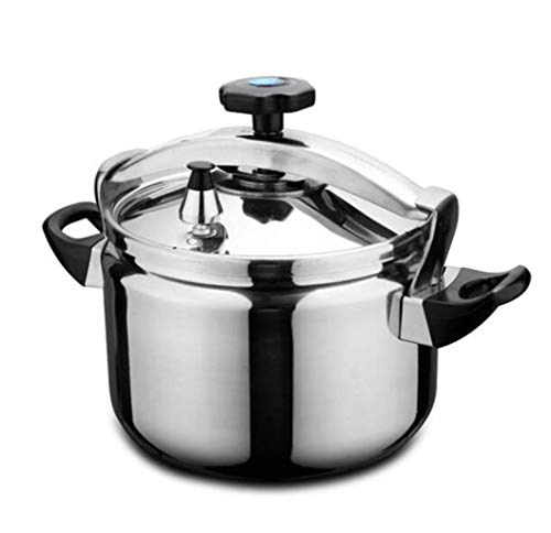 Schnellkochtopf nach Hause Küche Suppentopf multifunktionales 20cm Edelstahl Dampfkochtopf Geeignet for heißen Topf gedünstet Fleischsuppe Topf heißen Topf Milchtopf Edelstahltopf Haushalt Geschirr 4.
