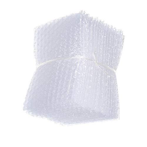 50 Stücke Verpackungsbeutel Luftpolsterfolie Taschen transparente Blasentasche - Klar 18x20cm