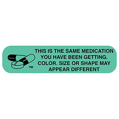 Apothecary Products Medicine Tape and Labels | Great for Pharmacy | This Is the Same Medication You Have Been Getting | Pack of 1000