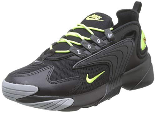 Nike Zoom 2K, Scarpe da Ginnastica Uomo, Nero (Black/Volt/Anthracite/Wolf Grey 008), 42.5 EU