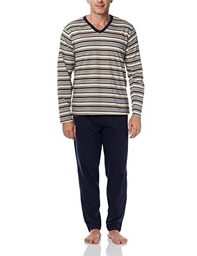 ML Dec. V Com Calça/RF 060079 Pzama, Pzama, Conjunto de Pijama, M, Pijama manga longa com calça. Conjunto produzido em meia malha.Modelagem confortavel e com liberdade de movimentos.