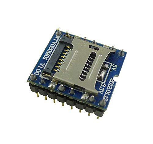 U-Disk Audio Player TF SD Card Voice Module MP3 Sound WTV020-SD-16P for Arduino*