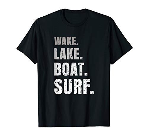Wakeboard Wakeboarden I Wakeboarding I Wassersport Geschenk T-Shirt