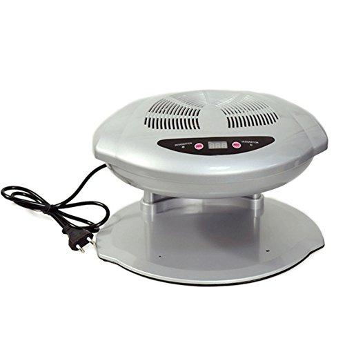WANGXN Ambos Manos Uñas Ventilador Secador De La Máquina Salón Profesional Infrarrojos Automáticos Sensores Dobles Caliente Y Fresco Aire Brisa para Secar Esmalte De Uñas Acrílico Uñas, Gray