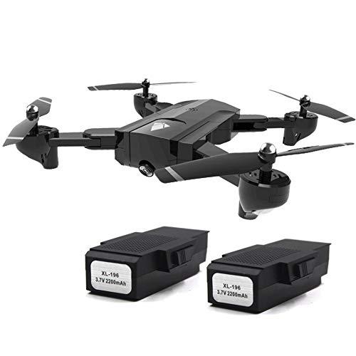 Fiaoen RC Drohne mit Dual Kamera, 4K HD Quadcopter Drohne, Flow Location Romote Control Drohne various occasions