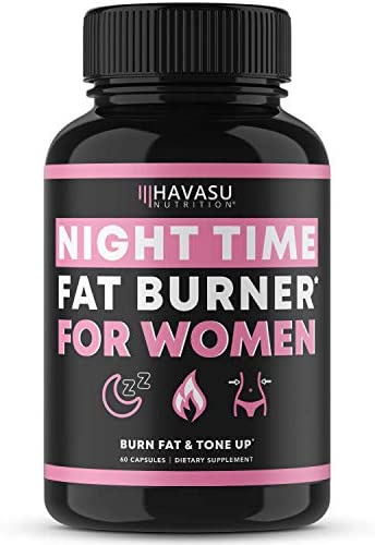 Havasu Nutrition Night Time Fat Burner for Women Sleep Aid Appetite Suppressant and Metabolism product image