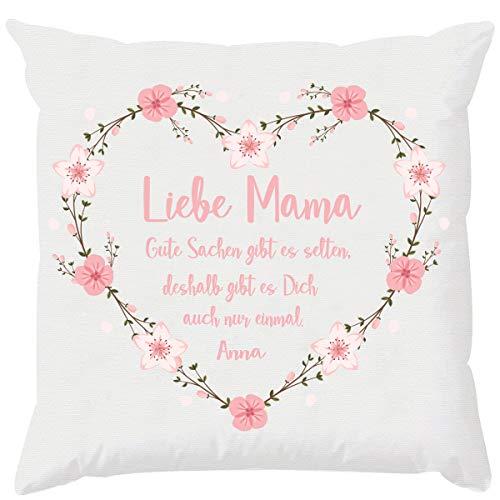EZYshirt® Geschenk für die beste Mama der Welt | Muttertagsgeschenk | Mit Wunschdruck
